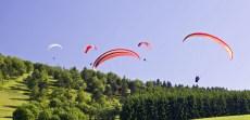 Drachenfliegen und Gleitschirmfliegen in Willingen