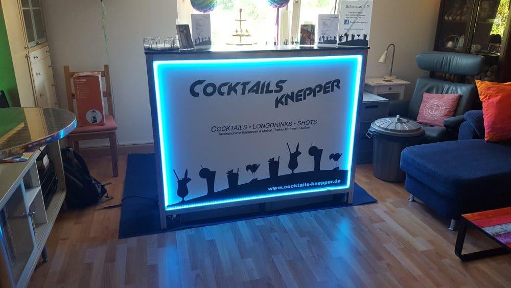 Knepper Management - Mobile Cocktailbar in der Wohnung