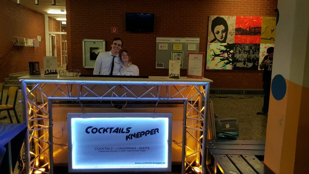 Mathieu Knepper und Michelle bei Cocktails Knepper