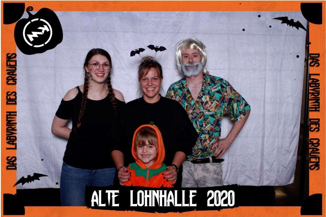 Halloween 2020 - Knepper Management - Alte Lohnhalle Wattenscheid