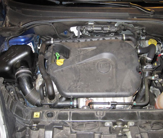 S  Performance Air Intake System Engine Compartment Photo
