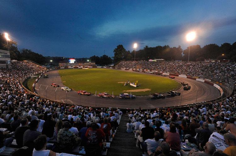 NASCAR K&N Pro Series Race at Bowman Gray Stadium in North Carolina Adds to History