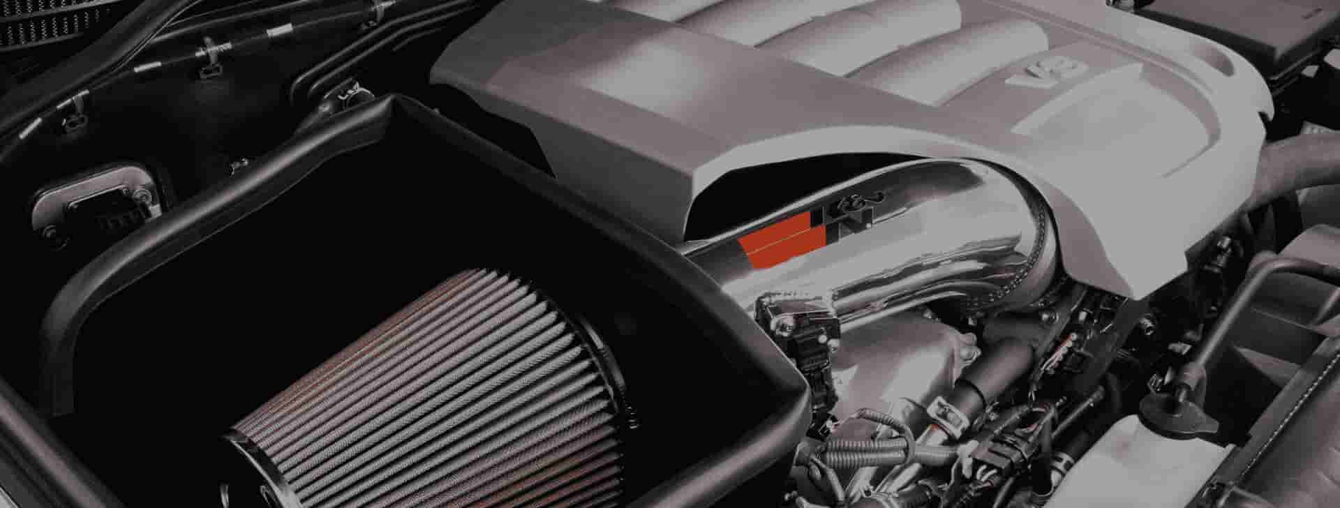 hight resolution of cold air intakes
