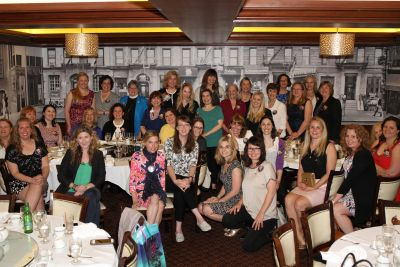 Photo of the Knickerbocker Chapter, NSDAR after dinner
