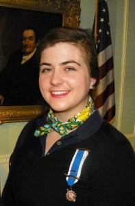 photo of Lindsey Mulholland Knickerbocker chapter Corresponding Secretary
