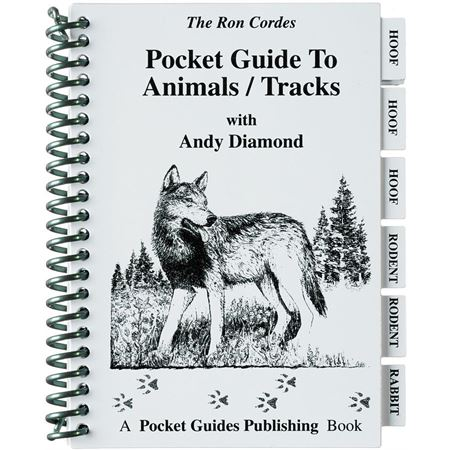 Books 2 Pocket Guide to Animals/Tracks Book with 28