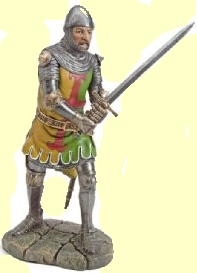 A Medieval knight
