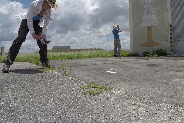 Valerie and Daniel, HM69 Nike Missile Base