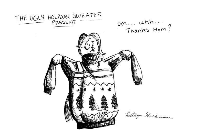 Sweaters Cartoon