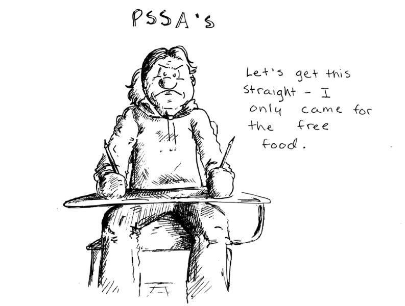 The Knight Crier : PSSA Season is Here