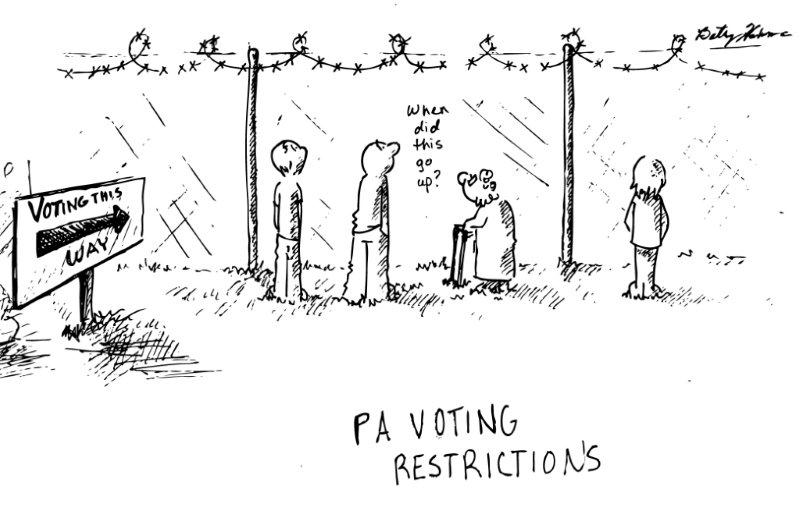 The Knight Crier : The New Voting Restrictions for November
