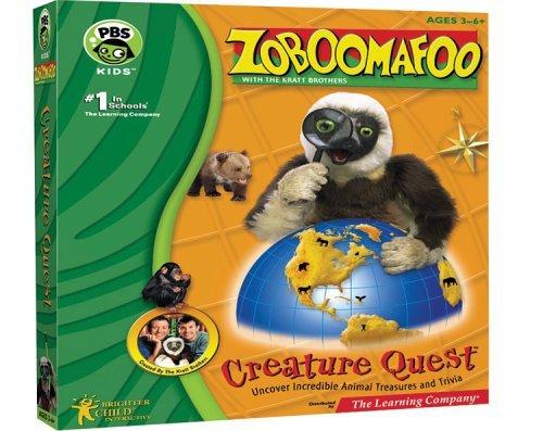 Zoboomafoo Creature Quest