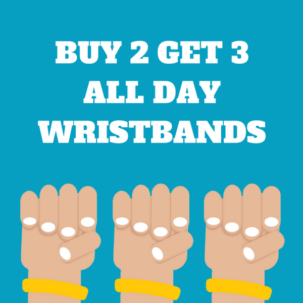 3 FOR 2 KNIGHTLY'S WRISTBANDS