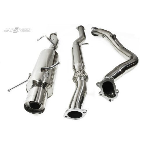 subaru impreza classic turbo back full decat race exhaust system
