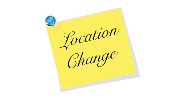 location change