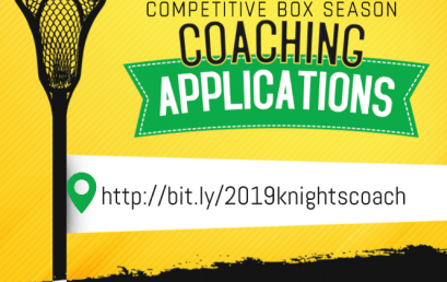 2019 Competitive Coaching Applications due January 30th