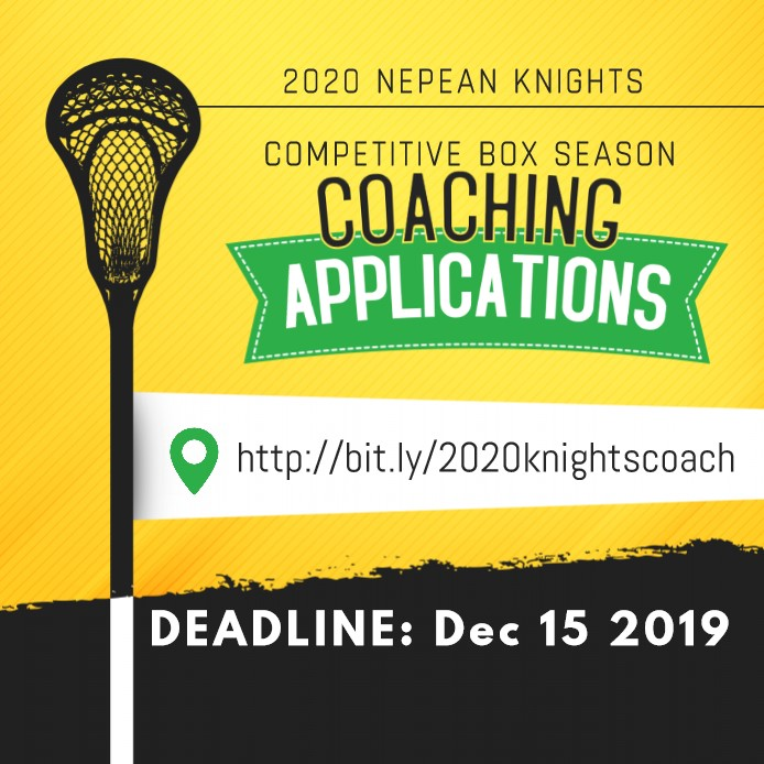 2020 Competitive Coaching Applications