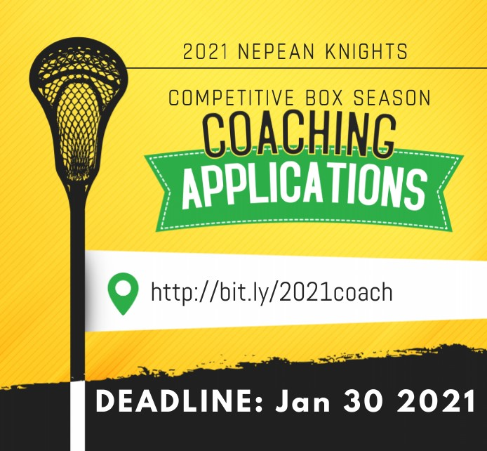 2021 Competitive Coaching Applications