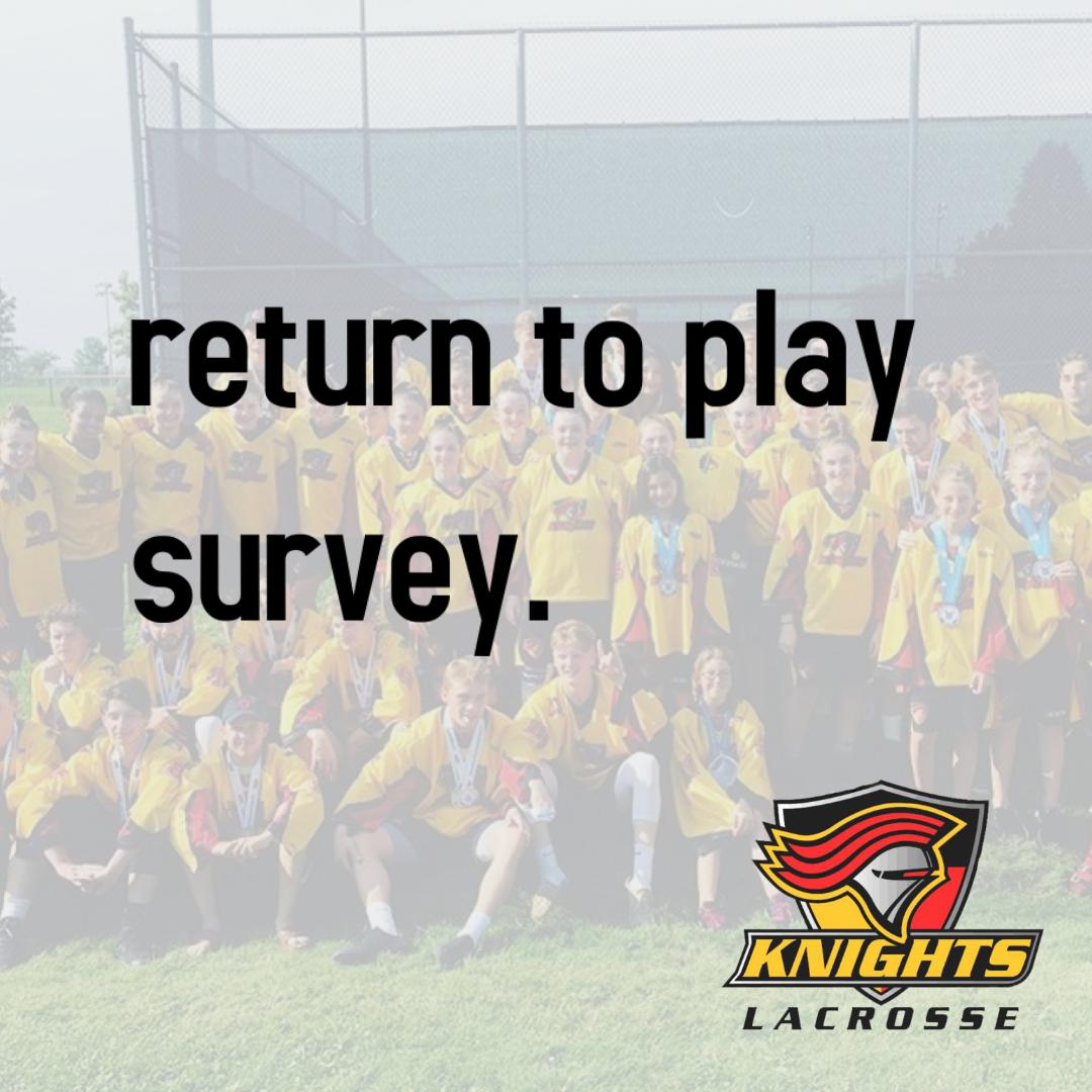 Knight Return to Play Survey