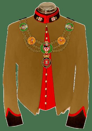 2-C Uniform Knights & Dames Collar