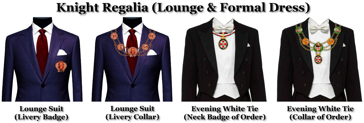 Knight Regalia (Lounge & Formal) 1250