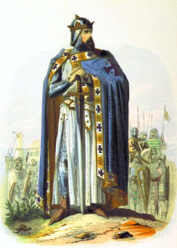 Godfrey de Bouillon, Commander of the Crusades which were rejected by the later Templar Order