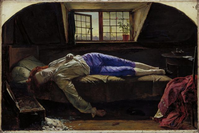 Henry Wallis, The Death of Chatterton