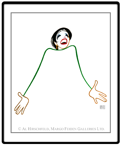 Al Hirschfeld, Liza Minnelli