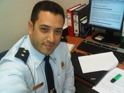 De flitscarrière van agent en schotte-vazal Michael Romer. Foto uit 2011 voor 'promotie' naar de VDC, en thans richting MOT