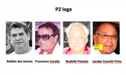 2011 P2 loge - Francesco Corallo-Rudy Pizziolo-Robbie Dos Santos-Cocochi Prins