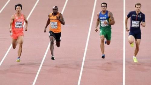 Churandy Martina niet geplaatst finale 200 meter