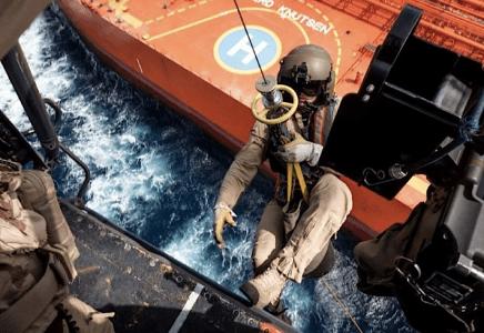 reddingsoefening marine-kustwacht