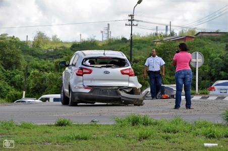 Het aantal verkeersongelukken op Curaçao neemt toe