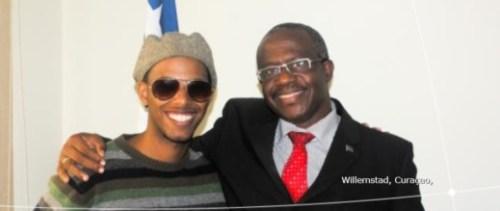 jeugdambassadeur' van Curaçao Gendell Mercelina |One Young World)