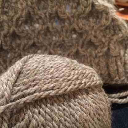 my knitting!