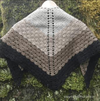 muirandco's stunning crochet shawl (instagram)