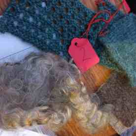 from fleece to swatch - gorgeous gotland
