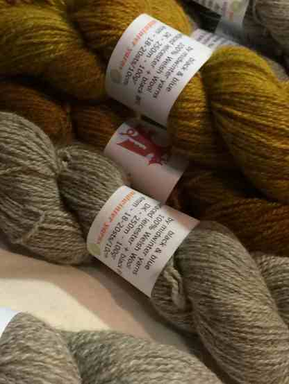 Midwinter Yarns had new yarn!