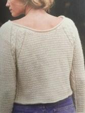 Devonia Cream sweater Image: © Knitting Magazine