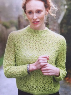 Lime Bitter. Image: © Knitting Magazine