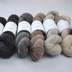 The range of Astair wool and alpaca blends