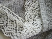 List of Synonyms and Antonyms of the Word: knitted lace border