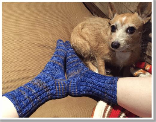 Blue Sock 2