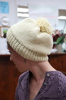 Rachel's cowl and hat