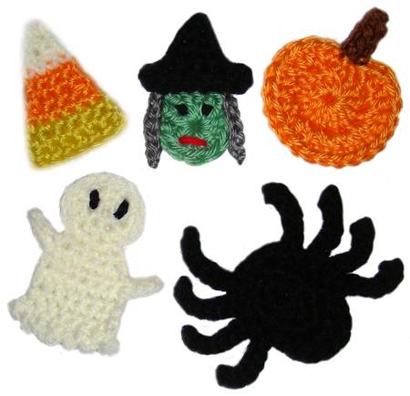 Halloween Knitting and crochet