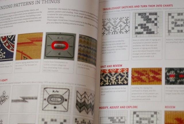 the knitsonik stranded colourwork sourcebook - a practical manual for designing stranded colourwork based on everyday inspirations