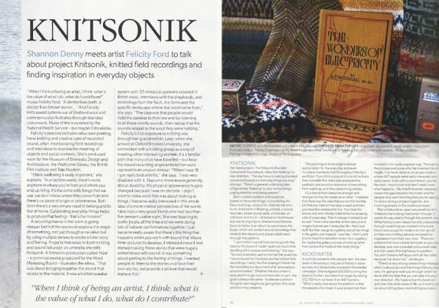 Knitting Magazine, January 2015