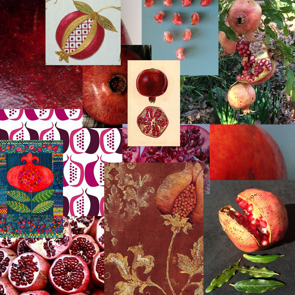 POMEGRANATE INSPIRATIONS!