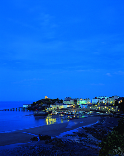 Tenby: Brenda's inspiration source for the May edition of Gwlana