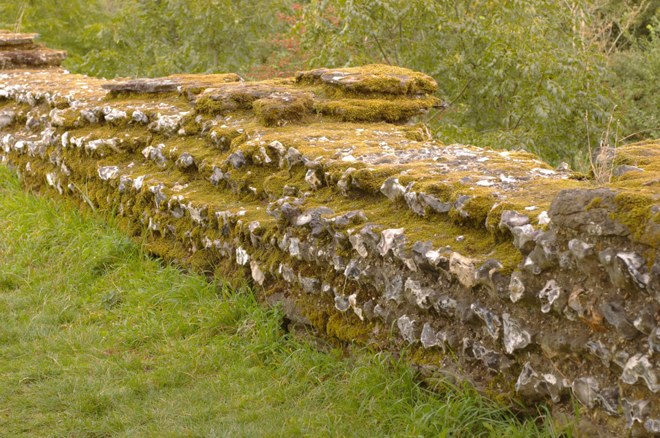 Roman Wall at Silchester